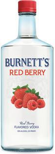Burnett's Vodka Red Berry 1.00l